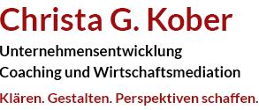 Christa G. Kober Logo
